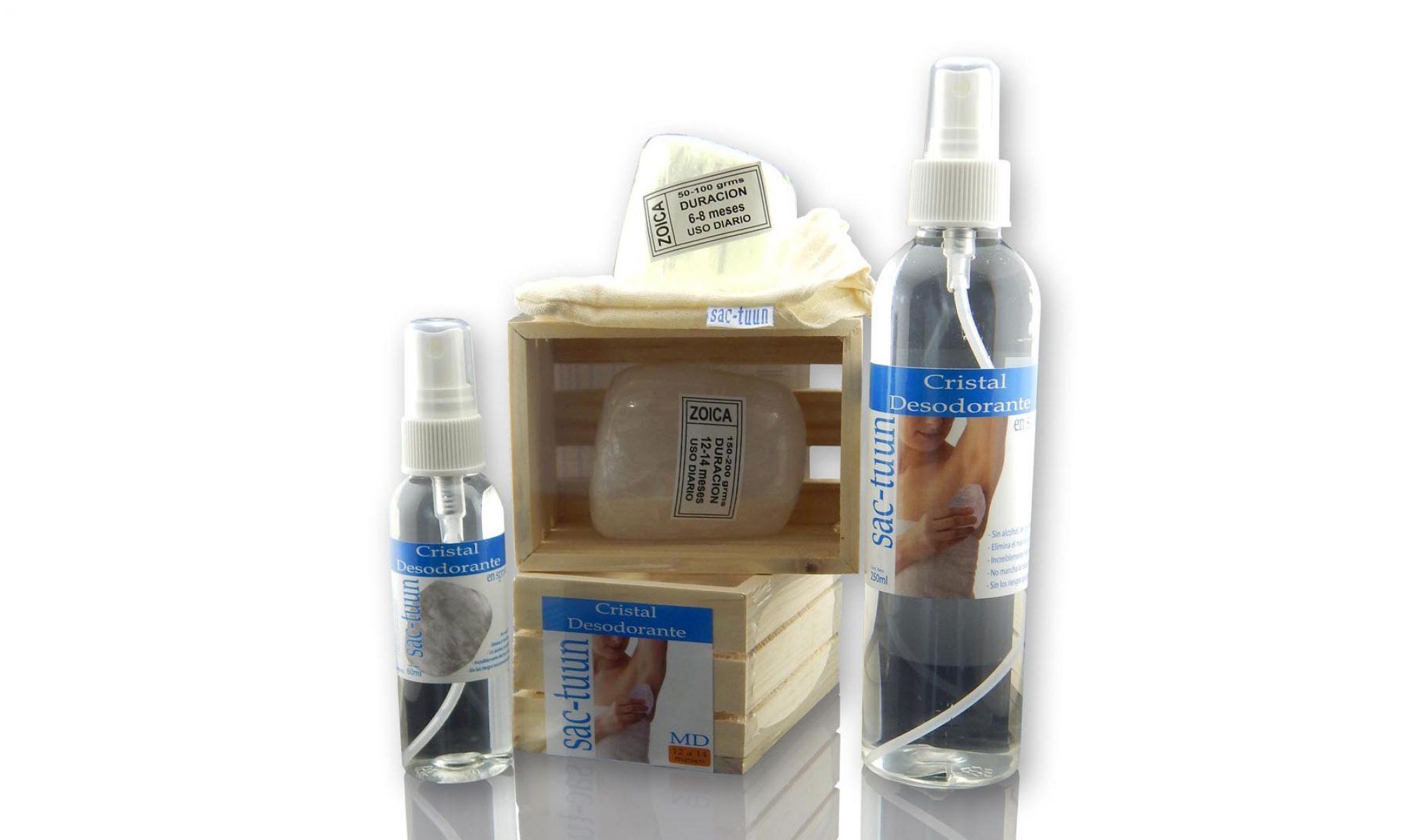 Cristal Desodorante Sac-Tuun